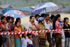 Recuperados 31 cadáveres del avión militar siniestrado en Birmania
