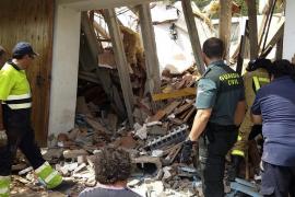 Dos personas atrapadas en el derrumbe de una casa en Zaragoza