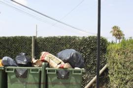 Huelga idefinida de los trabajadores que se encargan de la recogida de residuos en el Pla de Mallorca