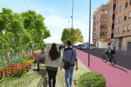 Los vecinos de Es Fortí proponen la creación de un Paseo-Bulevar con carril bici hacia el Parc de Sa Riera