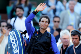 Toni Nadal: «Rafa está en el mejor momento del año»