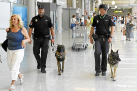 Un vigilante del aeropuerto de Palma contrató microcréditos a nombre de compañeros