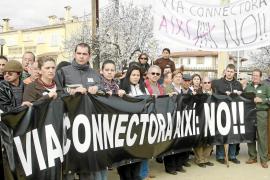 Armengol anuncia que se «redimensionará» el proyecto de vía conectora por las protestas