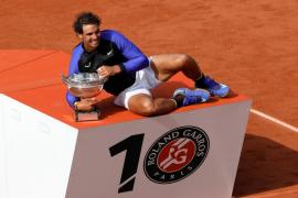 Nadal perpetúa su condición de rey de la tierra batida al conquistar su décimo Roland Garros