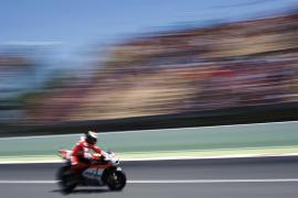 Jorge Lorenzo: «Doy destellos de rapidez, pero la moto aún no es natural para mí»