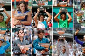 Roland Garros rinde un sentido homenaje a Nadal por su décimo triunfo