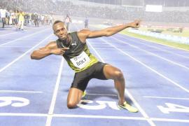 Usain Bolt se despide de Jamaica con una victoria