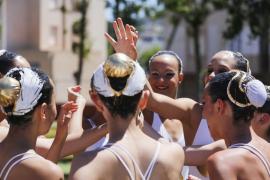 El CN Eivissa triunfa en el campeonato de Balears de natación sincronizada