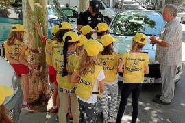Los escolares de Llubí se convierten en 'patrulleros' por un día e imponen multas