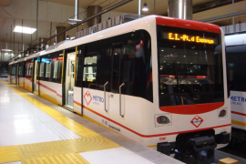 Los usuarios del metro de Palma descienden un 26% en abril, la mayor caída del país