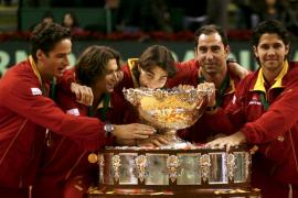 Nadal, Ferrer, Verdasco y Feliciano jugarán frente a Bélgica la Copa Davis