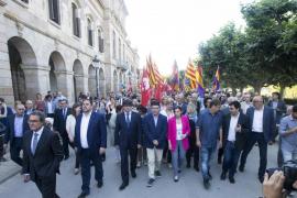 Forcadell afirma que quien declara en los tribunales por el proceso soberanista es «el pueblo de Cataluña y no sus representantes»