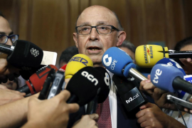 Montoro justifica la amnistía fiscal por situación límite de España en 2012