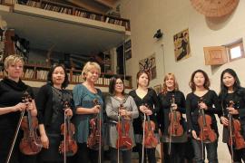 Grandes violines de Hamburgo completan su formación en Búger