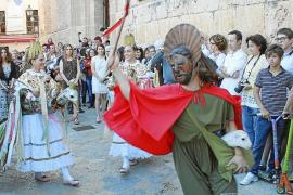 La procesión del Corpus de Pollença, con control veterinario