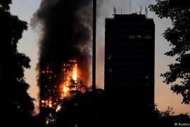 Varios muertos en el incendio de una torre residencial en Londres