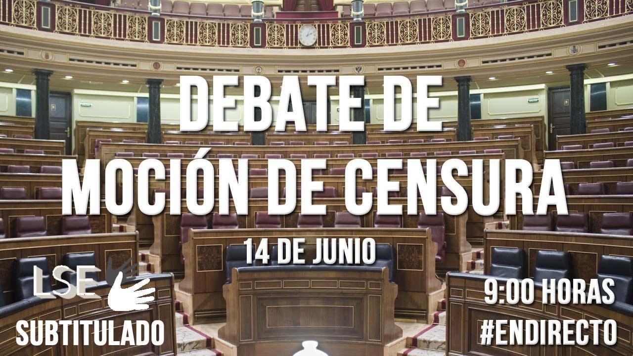 En directo, la segunda sesión de la moción de censura
