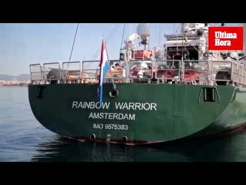Visita el Rainbow Warrior este miércoles en Palma