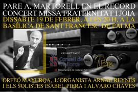 Orfeo Mayurqa - 'Pare A. Martorell en el record'