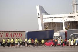La huelga de estibadores no altera el tráfico portuario en Baleares