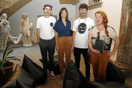 Can Marqués acoge la presentación del libro 'Black faces' del artista Grip Face
