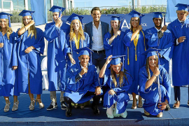 Fiesta de graduación en la American International School