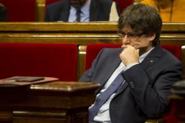 Puigdemont pide por carta un debate sobre el referéndum en el Congreso
