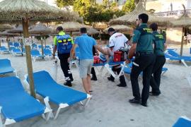 Un menor, grave tras caer de una torre de vigilancia en una playa de Santanyí