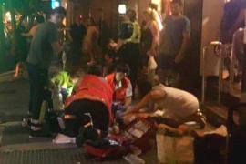 En estado crítico un motorista tras chocar contra un coche en Palma