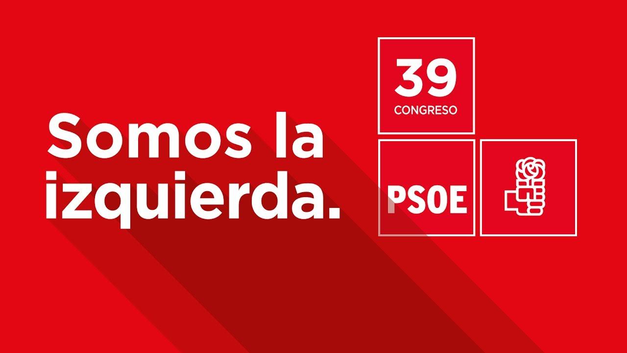 En directo, el 39º Congreso Federal del PSOE