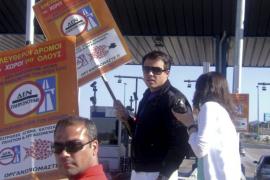 Protesta 'a la griega'