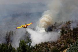 España envía dos aviones para ayudar a extinguir el incendio de Portugal