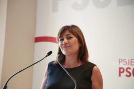 Armengol formaliza este lunes su candidatura a la secretaría general del PSIB-PSOE