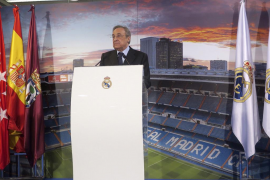 Florentino Pérez, proclamado presidente del Real Madrid