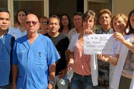 El centro de salud de Cala Rajada, al límite de ser un «infierno» por falta de ventilación
