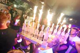 Las fiestas etílicas siguen siendo el reclamo de la Platja de Palma