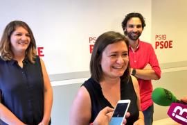 Mercedes Garrido presenta su precandidatura a la secretaría general de los Socialistas de Mallorca