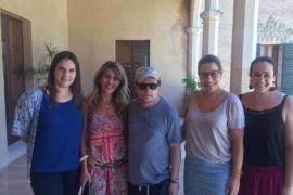 Michael J.Fox, de turismo por Mallorca