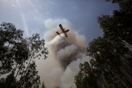 Protección Civil de Portugal desmiente la caída de un avión de los que combaten el incendio