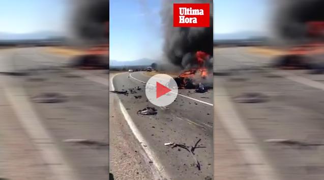 Fallece tras quedar atrapado en su coche ardiendo después de chocar con un camión en Artà