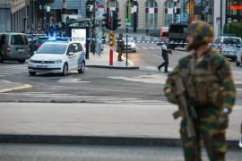 Una persona neutralizada por el Ejército tras provocar una explosión en la estación central de Bruselas