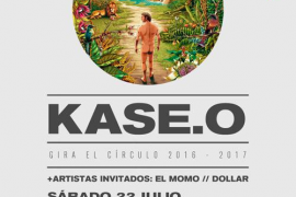 La gira 'El circulo' de Kase.O visita Son Fusteret