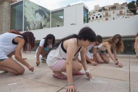 'Performance' en el Museo de Arte Contemporáneo de Ibiza.