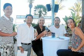 Fiesta organizada para las jugadoras del Mallorca Open de Tenis