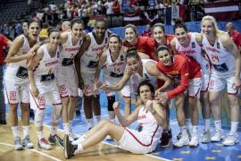 España tumba a Letonia y jugará frente a Bélgica su quinta semifinal seguida