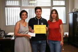 Un alumno de Felanitx gana un concurso sobre alimentos tradicionales de Baleares