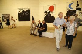 El 'Miró nunca visto' se puede disfrutar en Mallorca a través de 95 obras