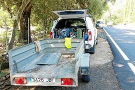 Principio de acuerdo para reabrir la carretera de Lluc al paso por Ca na Borrassa