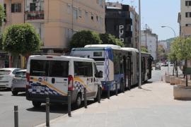 Herida una mujer tras ser atropellada por un autobús en Palma