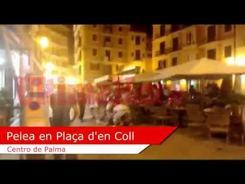 Brutal agresión en el centro de Palma
